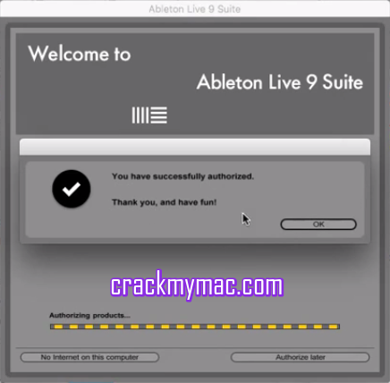 Ableton Live 9.6.2 Suite Cracked Mac Authorized