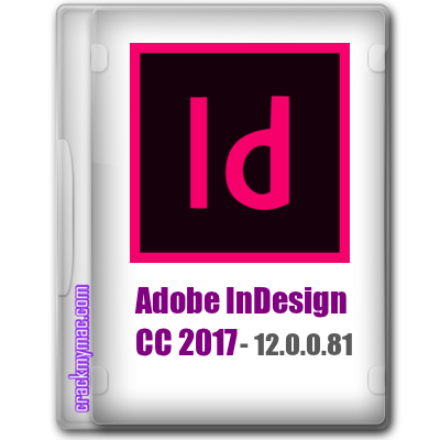 Adobe InDesign CC 2017 12.0.0.81 Logo - crackmymac.com