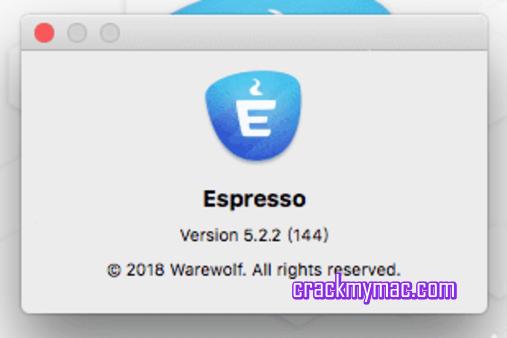 Espresso 5.2.2 Mac OS X Crack
