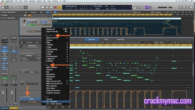 Logic Pro X (10 4 4) Mac Full Download Free - CrackMyMAC