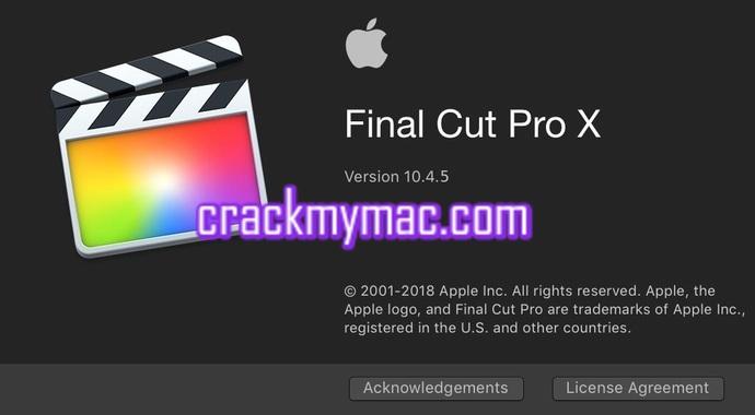 final cut pro x crack mac