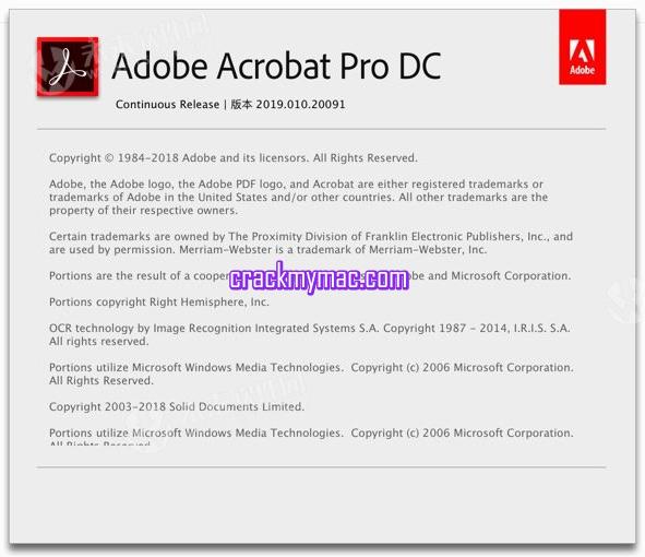 Adobe Acrobat Pro DC patch